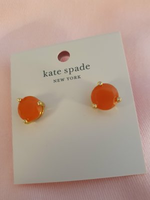 Kate Spade Pendientes de oro naranja