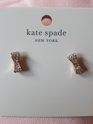 Kate Spade Clou d'oreille or rose