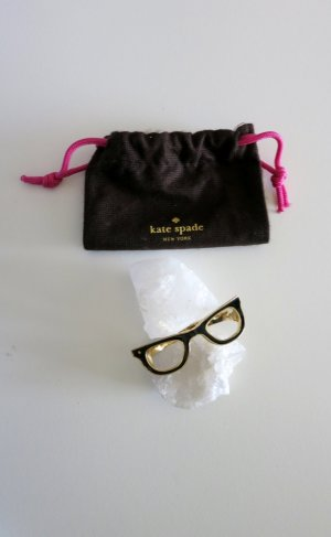 Kate Spade Brazalete negro-color oro