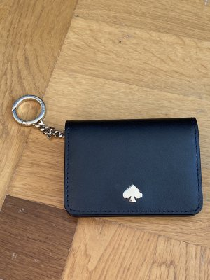 Kate Spade Card Case black leather