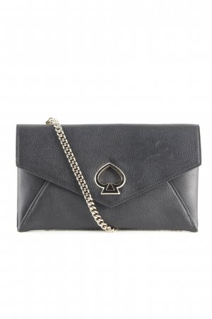 Kate Spade Clutch schwarz Business-Look