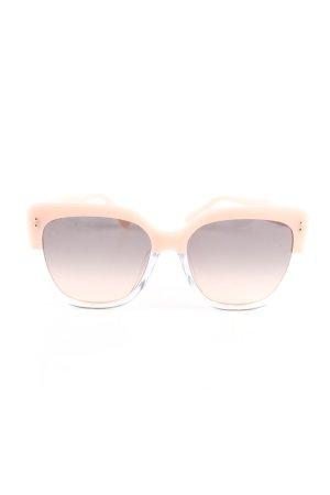 Kate Spade eckige Sonnenbrille nude Casual-Look