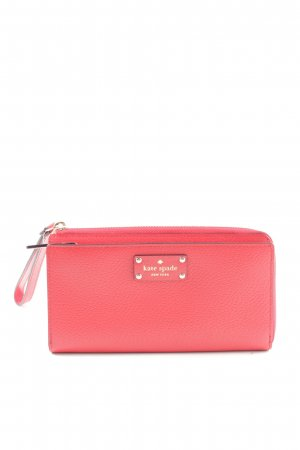 Kate Spade Geldbörse rot Business-Look