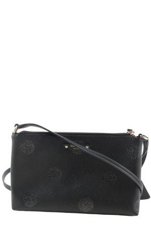 Kate Spade Handtasche schwarz Punktemuster Casual-Look