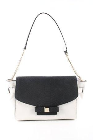 Kate Spade Handtasche weiß-schwarz Animalmuster Casual-Look