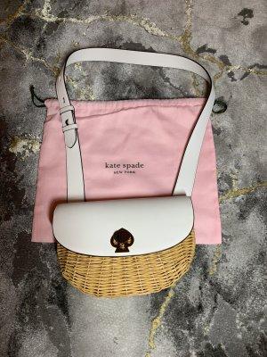 Kate Spade Bolso tipo cesta blanco
