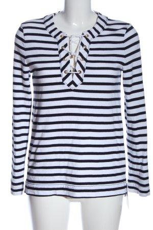 Kate Spade Longsleeve black-white allover print casual look