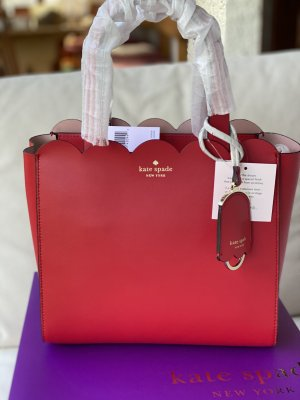 Kate Spade Satchel red leather