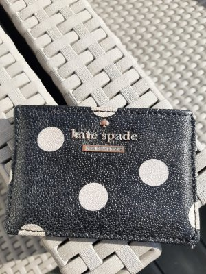 Kate Spade Tarjetero negro-beige claro