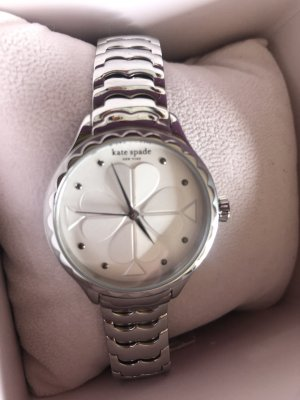 Kate Spade Watch With Metal Strap silver-colored-gold-colored metal