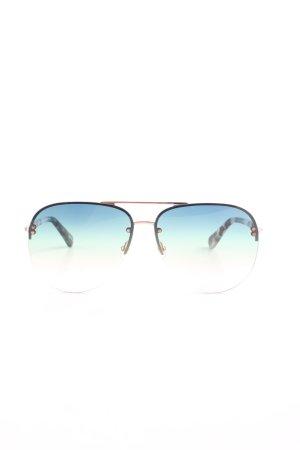 Kate Spade Pilot Brille mehrfarbig extravaganter Stil