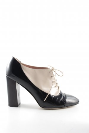 Kate Spade Lace-up Pumps black-cream business style