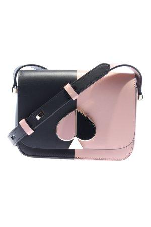 Kate Spade Schultertasche schwarz-pink Casual-Look