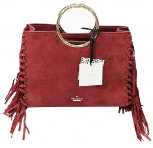 Kate Spade Schultertasche in Rot aus Leder
