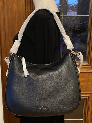Kate Spade Hobos black leather