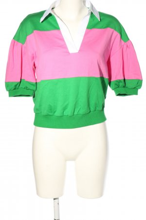 Kate Spade Cropped Shirt striped pattern casual look