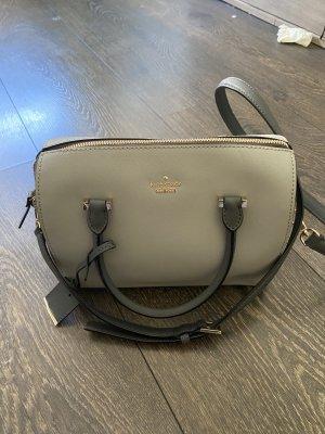 Kate Spade Tasche grau Leder