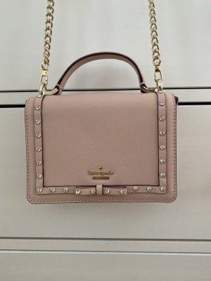 Kate Spade Tasche rosa gold mit Strass - neuwertig