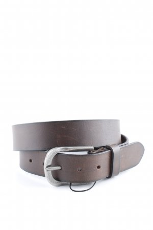 kate storm Leather Belt brown casual look
