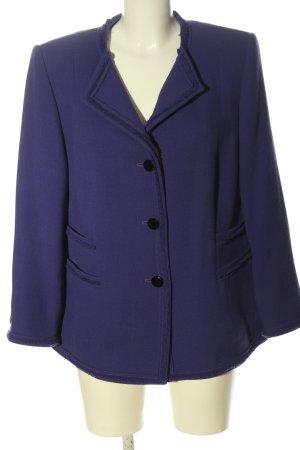 katharina V. Braun Wollen blazer lila zakelijke stijl