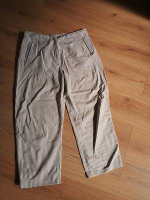 Kathleen Madden Pantalone elasticizzato bianco-grigio chiaro Viscosa