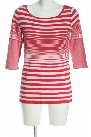 Kathleen Madden  rosso-bianco stampa integrale stile casual