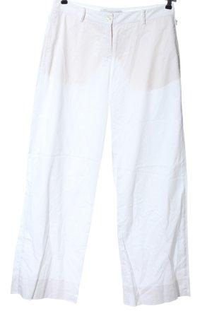 Kathleen Madden Pantalone jersey bianco stile casual