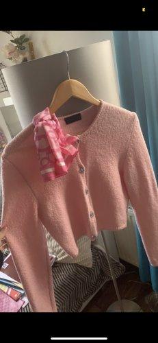 Kathleen Madden Cardigan rosa chiaro