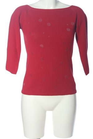 Kathleen Madden Strickpullover rot Casual-Look