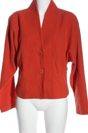 Kathleen Madden Blazer in lana rosso elegante