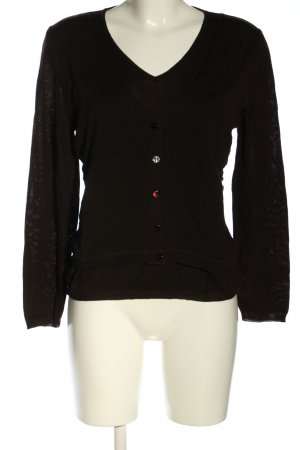 Kathleen Madden Maglione di lana marrone stile casual