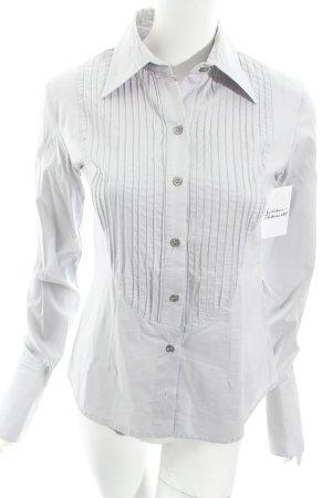Katia g. Langarm-Bluse blassblau klassischer Stil