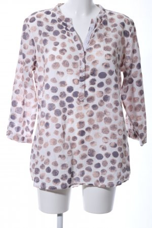 Schlupf-Bluse abstraktes Muster Casual-Look