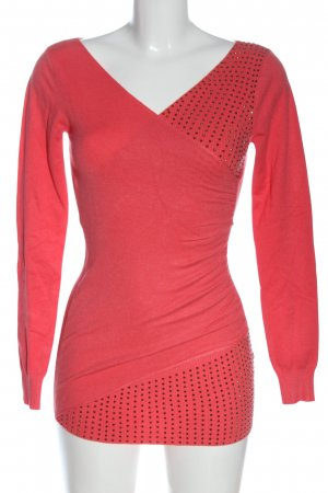 kaucla Strickpullover rot Casual-Look