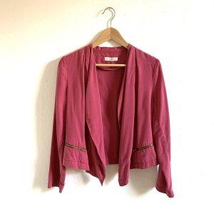 Kauf dich glücklich Aretha Blazer S 34/36/38 pink rosa aus Tencel Jacke Weste