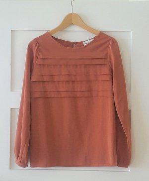 Kauf Dich Glücklich Bluse Blusenshirt lachs-orange XS /Gr. 34