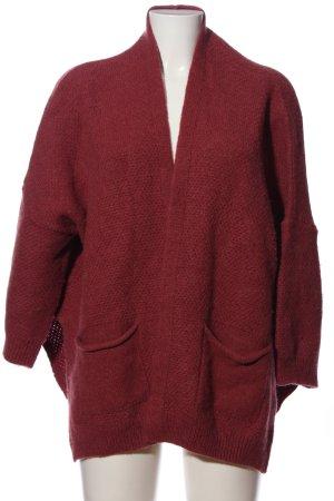 Kauf Dich Glücklich Cardigan rot Casual-Look