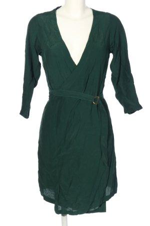Kauf Dich Glücklich Robe portefeuille vert style décontracté