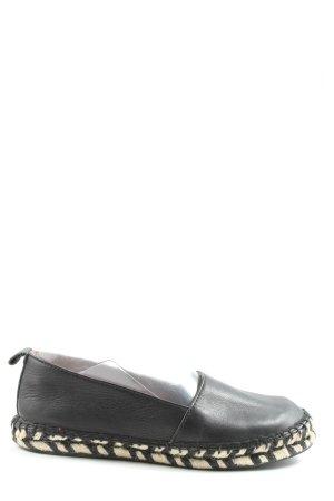 Kauf Dich Glücklich Espadrilles-Sandalen schwarz Casual-Look