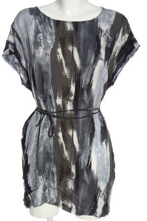 Kauf Dich Glücklich Minikleid abstraktes Muster Casual-Look