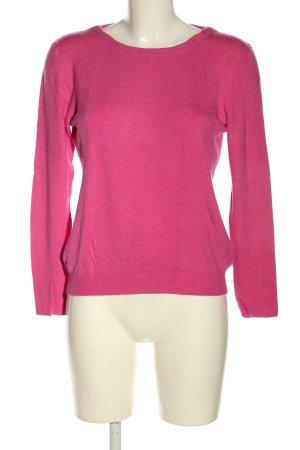 Kauf Dich Glücklich Rundhalspullover pink Casual-Look