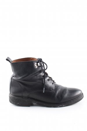 Kauf Dich Glücklich Schnür-Stiefeletten schwarz Casual-Look