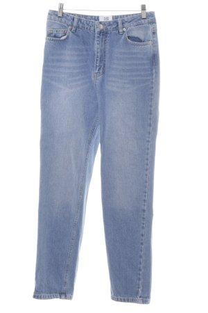 Kauf Dich Glücklich Slim Jeans himmelblau Jeans-Optik