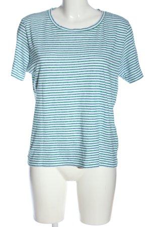 Kauf Dich Glücklich T-Shirt Allover-Druck Casual-Look