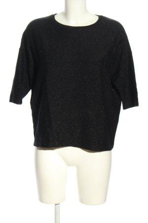 Kauf Dich Glücklich T-Shirt schwarz meliert Casual-Look