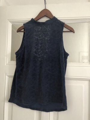 Kauf Dich Glücklich Blusa sin espalda azul oscuro