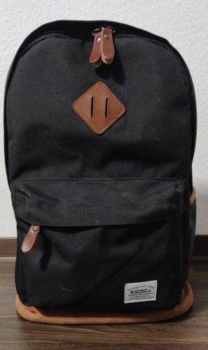 KAUKKO Rucksack Tasche schwarz