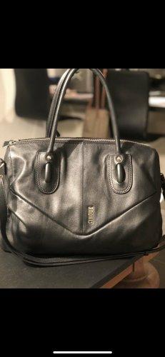 Kaum genutzte ledertasche