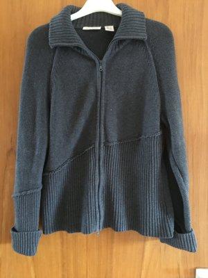 KAUM GETRAGEN - Graue Strickjacke - Größe XL - DKNY Jeans  - KAUM GETRAGEN