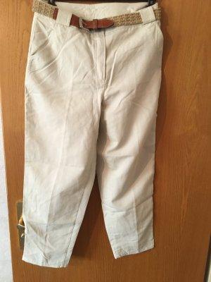 Rosner Pantalone a 7/8 beige chiaro Cotone